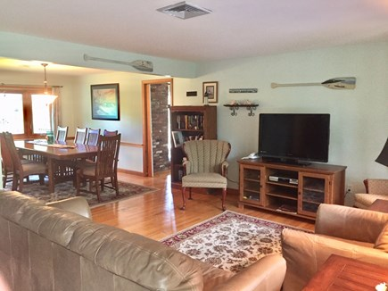 Chatham Cape Cod vacation rental - Living Area look toward dining