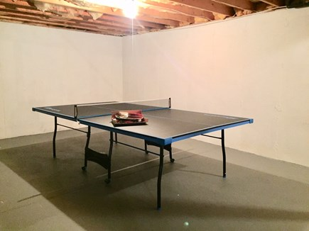 Chatham Cape Cod vacation rental - Ping Pong in Walk Out Basement