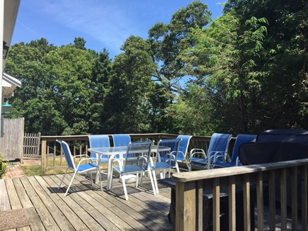 Chatham Cape Cod vacation rental - Deck area with grill and dining