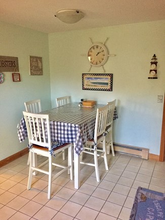 Chatham Cape Cod vacation rental - Eat In Kitchen Area