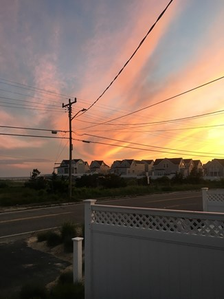 Dennis Port Cape Cod vacation rental - Enjoy STUNNING sunsets over Nantucket Sound from the front patio!
