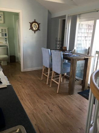 Dennis Port Cape Cod vacation rental - Gorgeous open kitchen with ceiling fan and natural lighting.