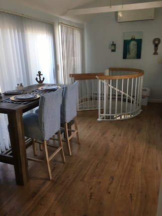 Dennis Port Cape Cod vacation rental - Wonder what's down that spiral staircase?  Come find out!