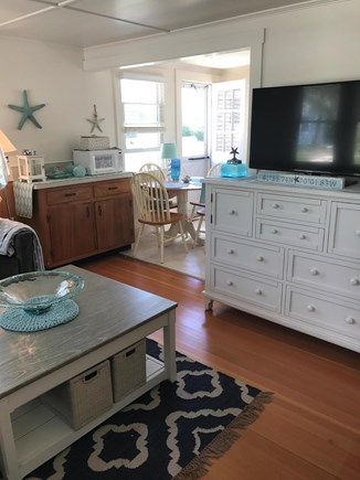 Wellfleet Cape Cod vacation rental - Living looking into Kitchen