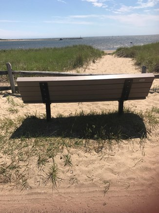 Wellfleet Cape Cod vacation rental - Mayo Beach just 120 feet from the Cottage