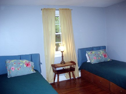 South Harwich Cape Cod vacation rental - Twin Bedroom - Platform Beds W/ Drawers  Full Closet