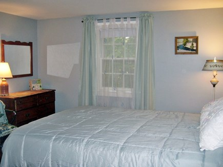 South Harwich Cape Cod vacation rental - Master Bedroom- Double Closets, Bureau, Side Tables, Queen Bed