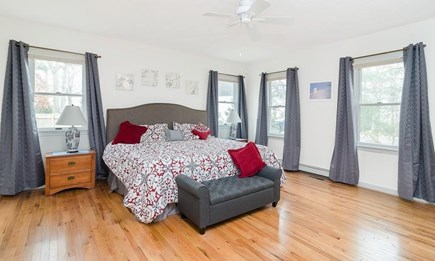 West Yarmouth Cape Cod vacation rental - Downstairs Master Bedroom