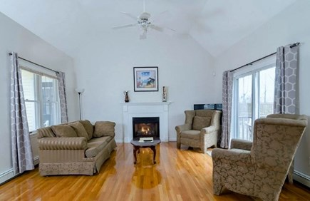 West Yarmouth Cape Cod vacation rental - Living area off entry