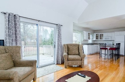 West Yarmouth Cape Cod vacation rental - Open living and kitchen area