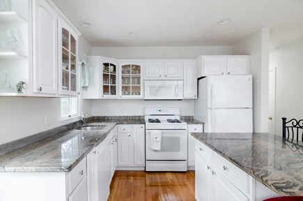 West Yarmouth Cape Cod vacation rental - Kitchen with island
