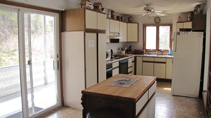 Truro Cape Cod vacation rental - Fully Equipped Kitchen (No Dishwasher)