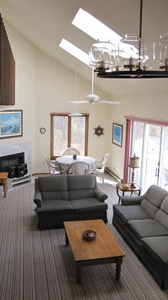 Truro Cape Cod vacation rental - View of Living Room