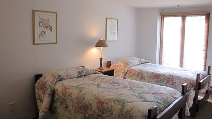 Truro Cape Cod vacation rental - Second Level Bedroom with 2 Twin Beds