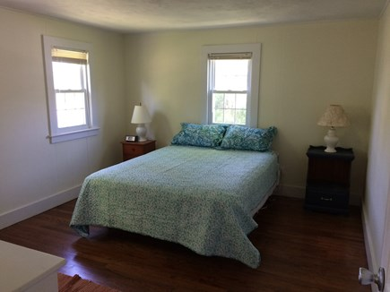 West Hyannisport Cape Cod vacation rental - Master bedroom with queen size bed, dresser and full size closet