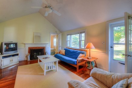 West Hyannisport Cape Cod vacation rental - Large living room for family fun