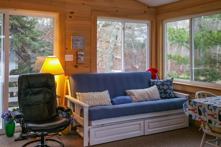 Wareham MA vacation rental - Folds into a bed for extra guests