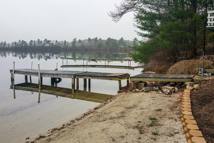 Wareham MA vacation rental - Boat right off the dock