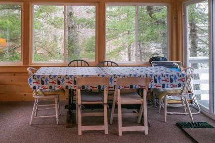 Wareham MA vacation rental - Dinner table has room for everyone