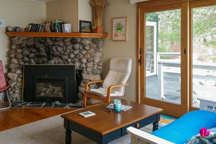 Wareham MA vacation rental - Living room has view of the outdoors
