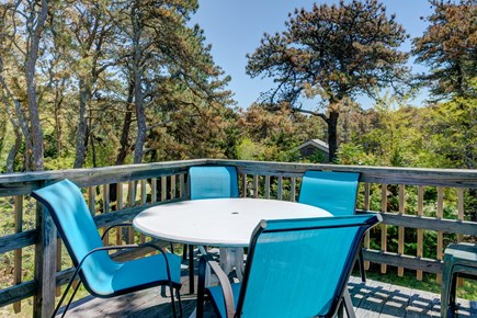 Orleans Cape Cod vacation rental - Have brunch outside