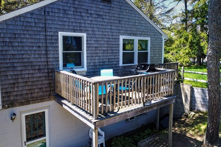 Orleans Cape Cod vacation rental - Elevated deck