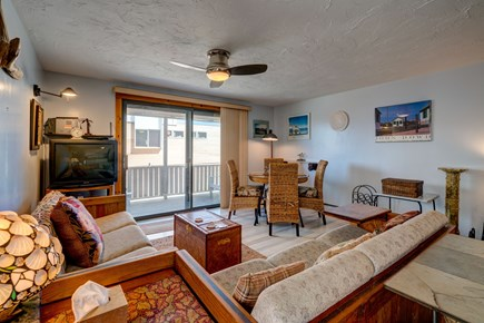 Provincetown Cape Cod vacation rental - An open living room to enjoy family time