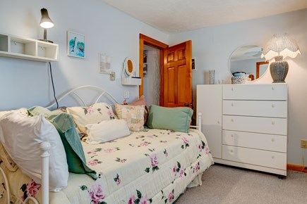 Provincetown Cape Cod vacation rental - See the Trundle bed under the twin