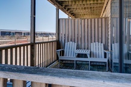 Provincetown Cape Cod vacation rental - Bask in the shade in the covered deck