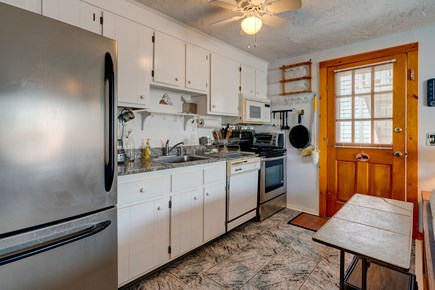 Provincetown Cape Cod vacation rental - Kitchen opens to outdide