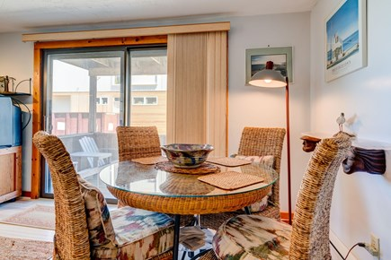 Provincetown Cape Cod vacation rental - Intimate dining table