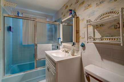 Provincetown Cape Cod vacation rental - Enjoy a warm shower after the beach