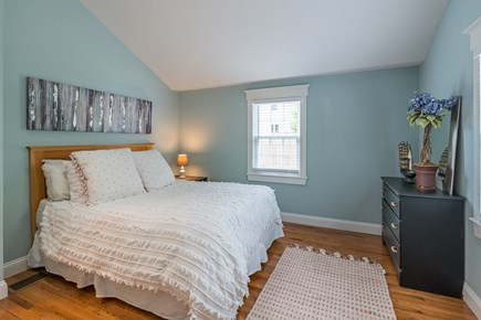 West Yarmouth Cape Cod vacation rental - Bedroom with queen bed with powder room