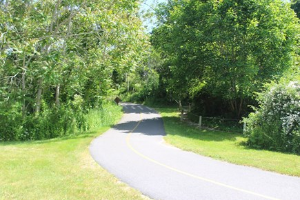 Eastham Cape Cod vacation rental - Bike trail at the Salt Pond Visitor's Center
