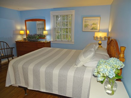Eastham Cape Cod vacation rental - Master bedroom with queen bed, private bathroom