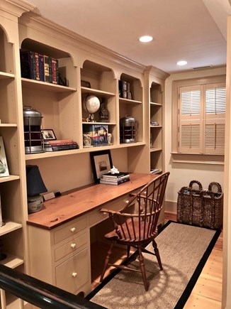 Provincetown Cape Cod vacation rental - Office area