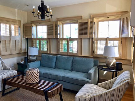 Provincetown Cape Cod vacation rental - Sitting area off the Kitchen