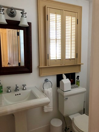 Provincetown Cape Cod vacation rental - Half bath on the first floor