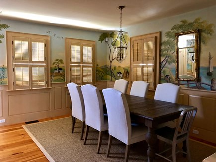 Provincetown Cape Cod vacation rental - Dining Room