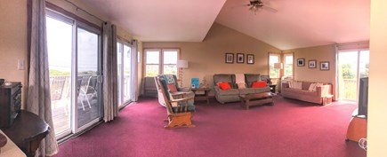 Plymouth, White Horse Beach MA vacation rental - 2nd flr.-TV, full-bath, 2 Queen sleepers and deck with ocean view