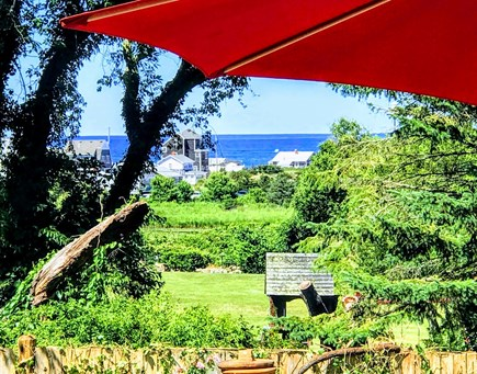 Plymouth MA vacation rental - Backyard Oceanview
