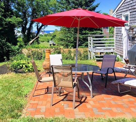 Plymouth MA vacation rental - Backyard Grilling with Beach Views