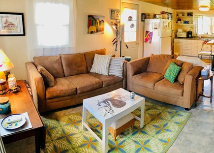 Plymouth, White Horse Beach MA vacation rental - Comfortable Living Area with Flat Screen/ WiFi and Music