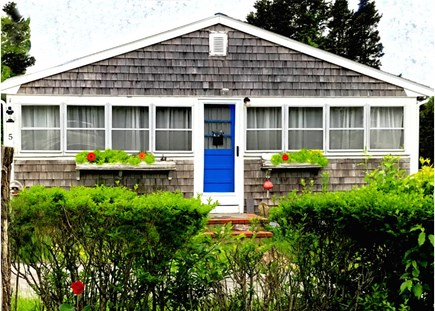 Plymouth, White Horse Beach MA vacation rental - Front View Beautiful Beach Cottage