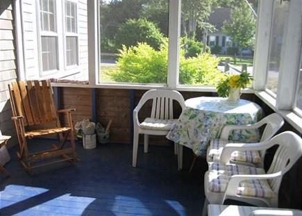 Dennis Cape Cod vacation rental - Porch