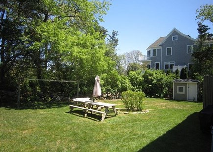Dennis Cape Cod vacation rental - Spacious Yard