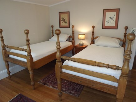 Chatham Cape Cod vacation rental - Second Level Twin Bedroom.