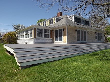 Chatham Cape Cod vacation rental - View of The Brand New Deck.