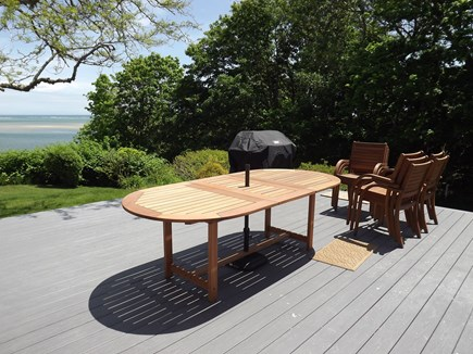 Chatham Cape Cod vacation rental - New Deck Furniture and Gas Grill.