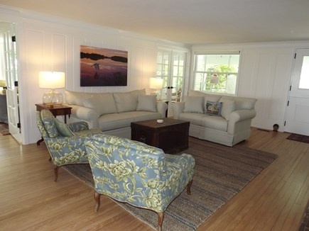 Chatham Cape Cod vacation rental - Sitting Area with TV.